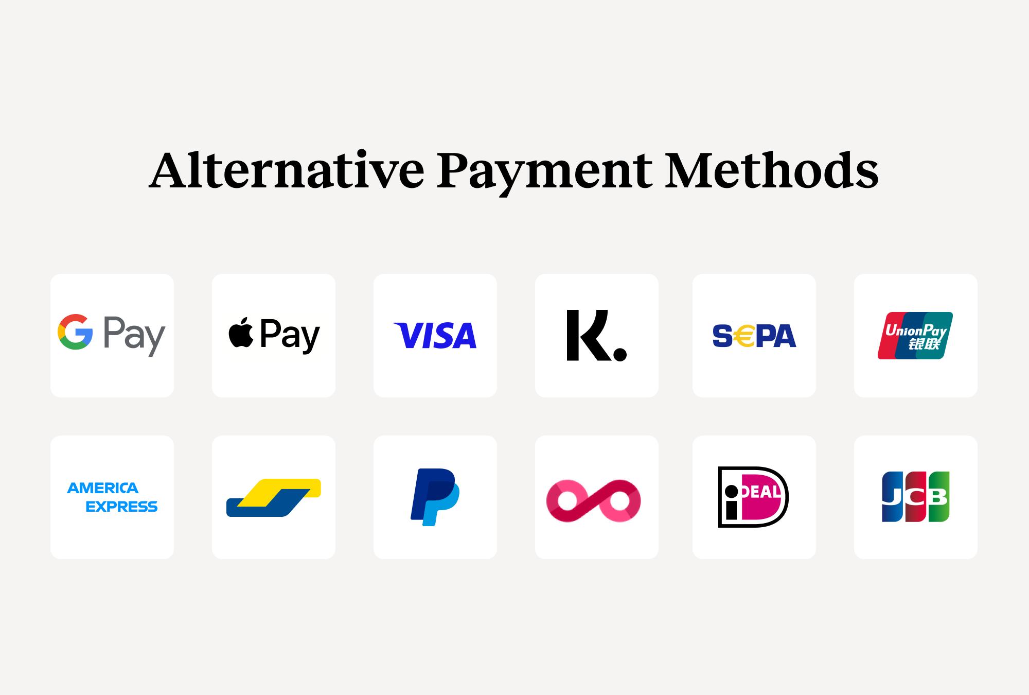 EMS Alternative Payment Methods