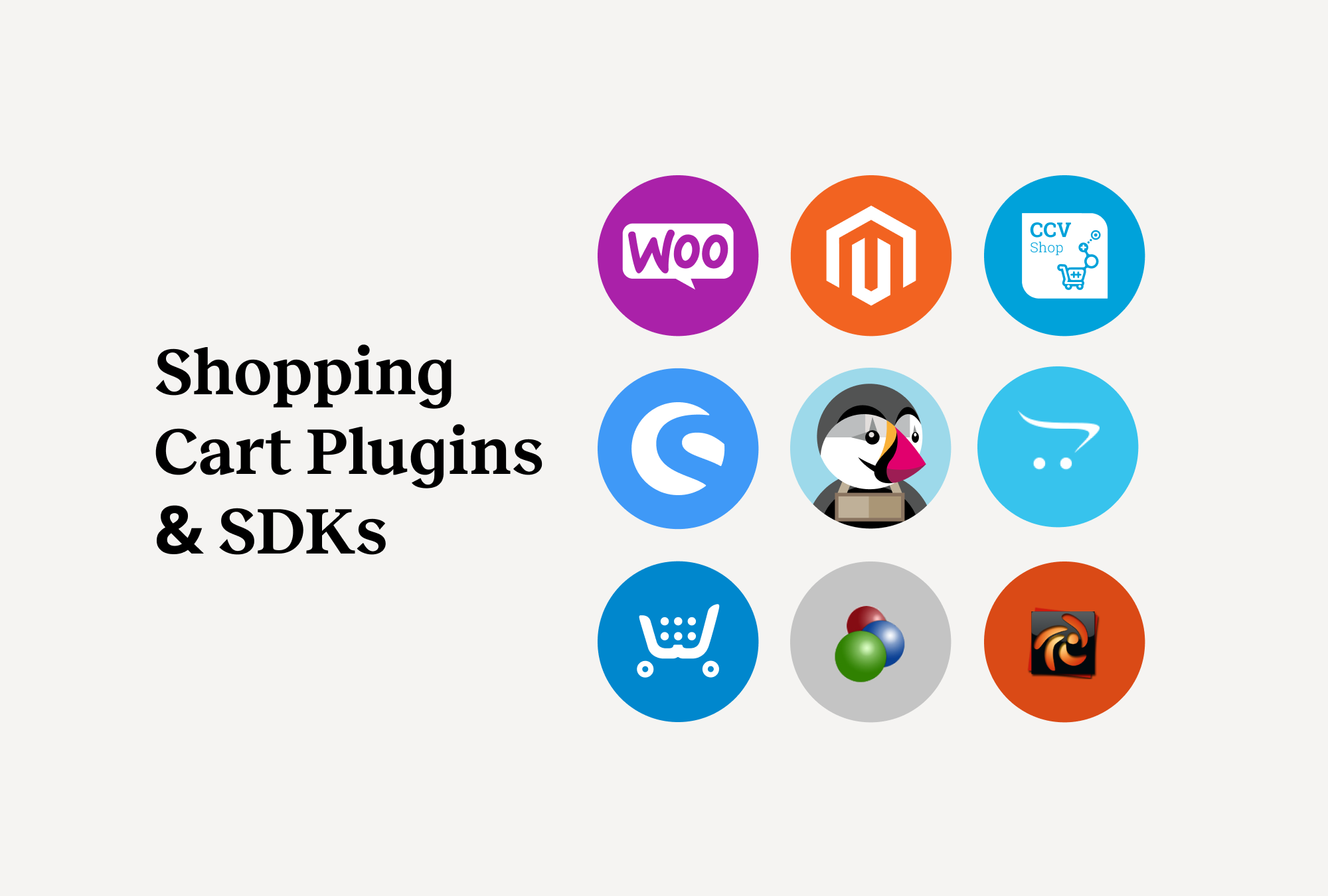 EMS Shopping Cart Plugins and SDKs